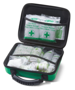 Hse 1-10 Person First Aid Kit In Medium Feva Case