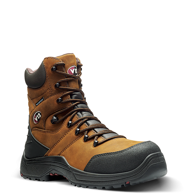 V12 Rocky Waterproof Zip Up Safety Boot Gaucho