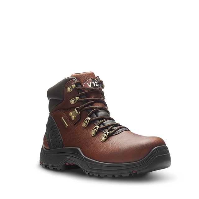 V12 Storm Waterproof Safety Boot Brown