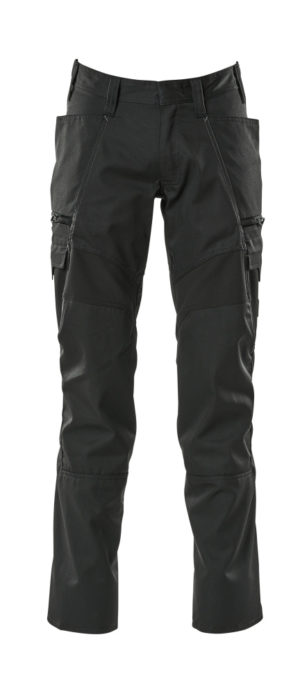 Mascot Accelerate Thigh Pocket Trousers Black